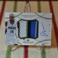2012-13 Immaculate: Premium Patches Signatures